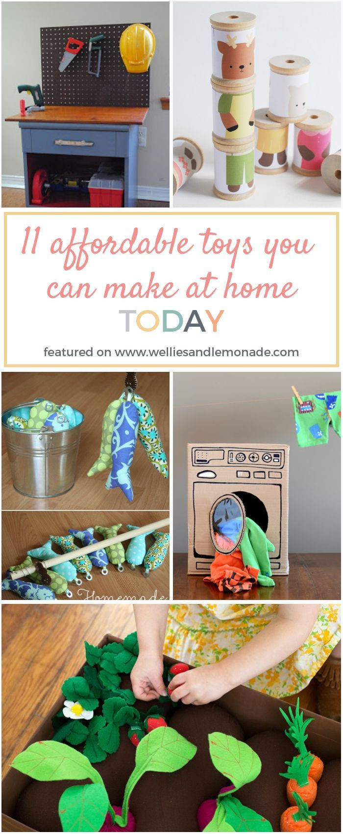 Best ideas about DIY Kids Toys . Save or Pin 1000 ideas about Homemade Kids Toys on Pinterest Now.