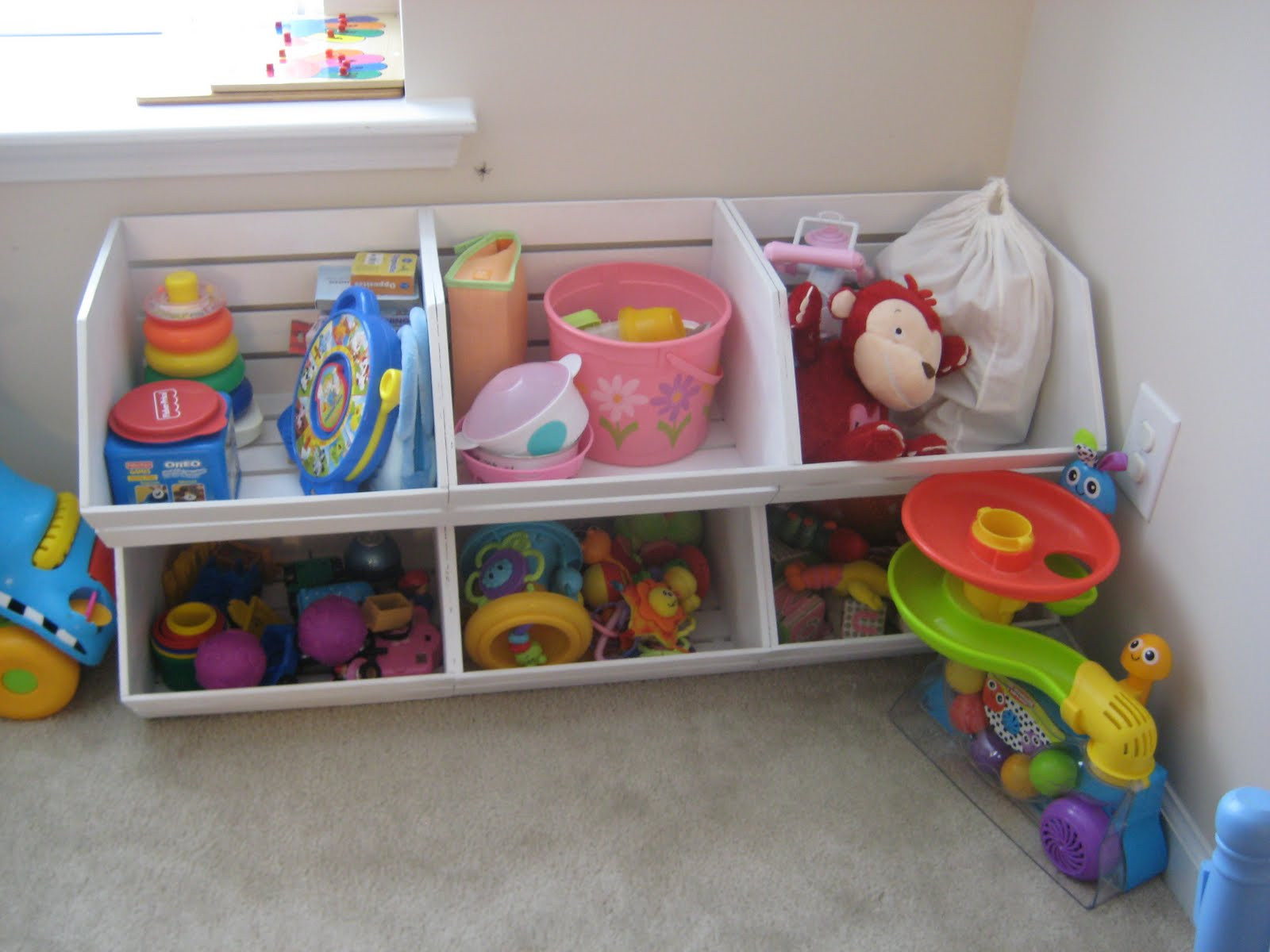 Best ideas about DIY Kids Toys . Save or Pin leaf and letter handmade pottery barn kids esque toy storage Now.
