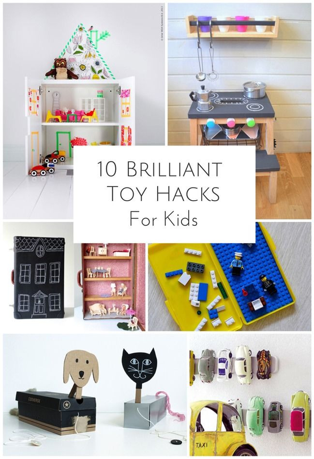 Best ideas about DIY Kids Toys . Save or Pin 10 BRILLIANT DIY TOY HACKS FOR KIDS Now.