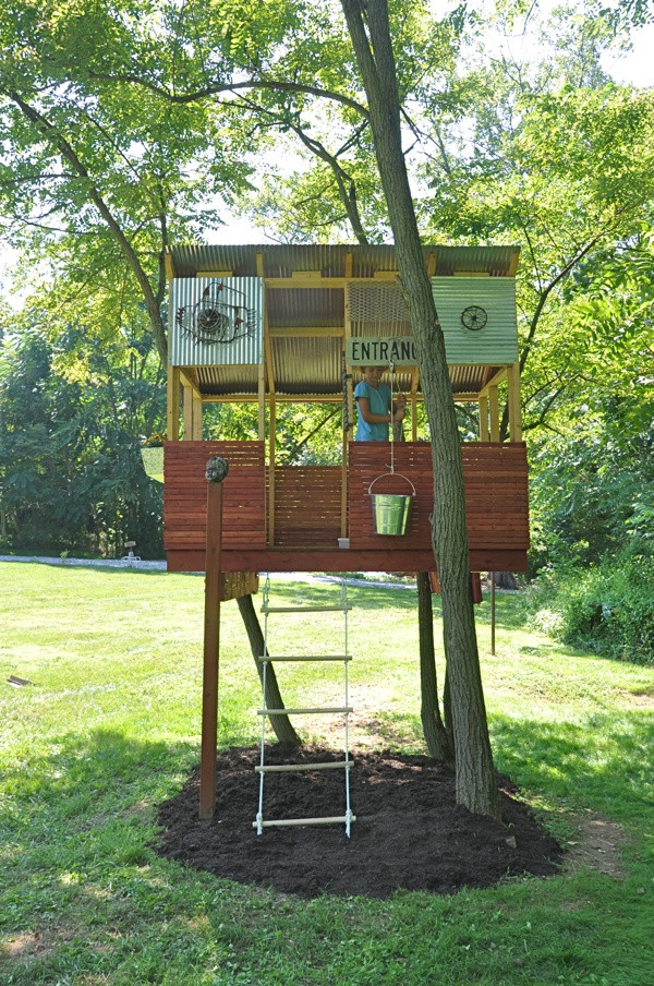 Best ideas about DIY Kids Treehouse . Save or Pin 33 Simple and Modern Kids Tree House Designs Now.