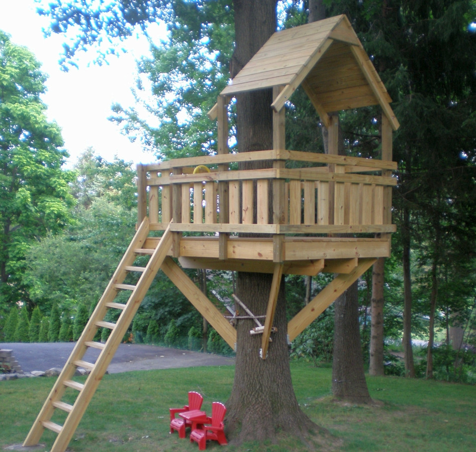 Best ideas about DIY Kids Treehouse . Save or Pin Build a Treehouse for Your Kids and be Their Superdad Now.