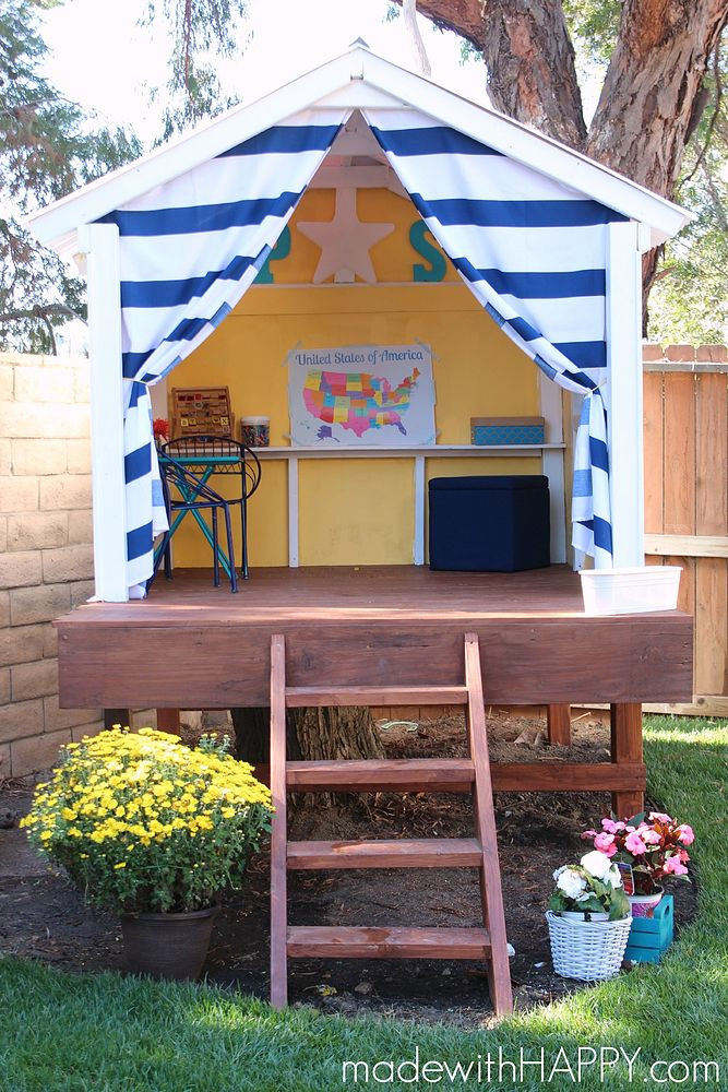 Best ideas about DIY Kids Treehouse . Save or Pin Hometalk Now.