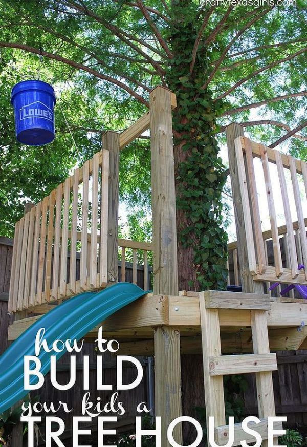 Best ideas about DIY Kids Treehouse . Save or Pin DIY Cool Kids Pallet Tree House Now.