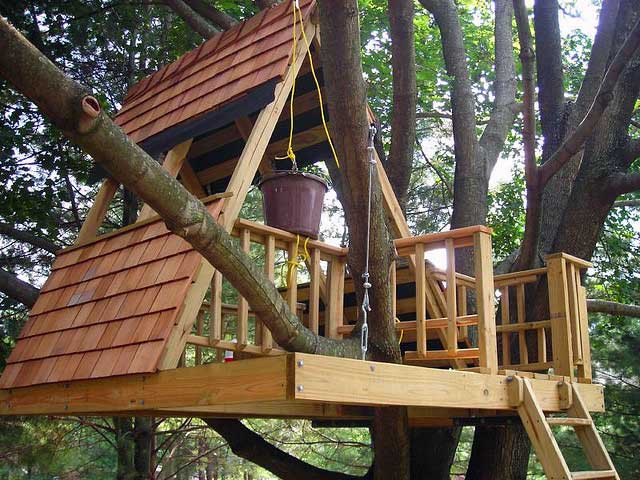 Best ideas about DIY Kids Treehouse . Save or Pin Building a Treehouse of Your Dreams Now.