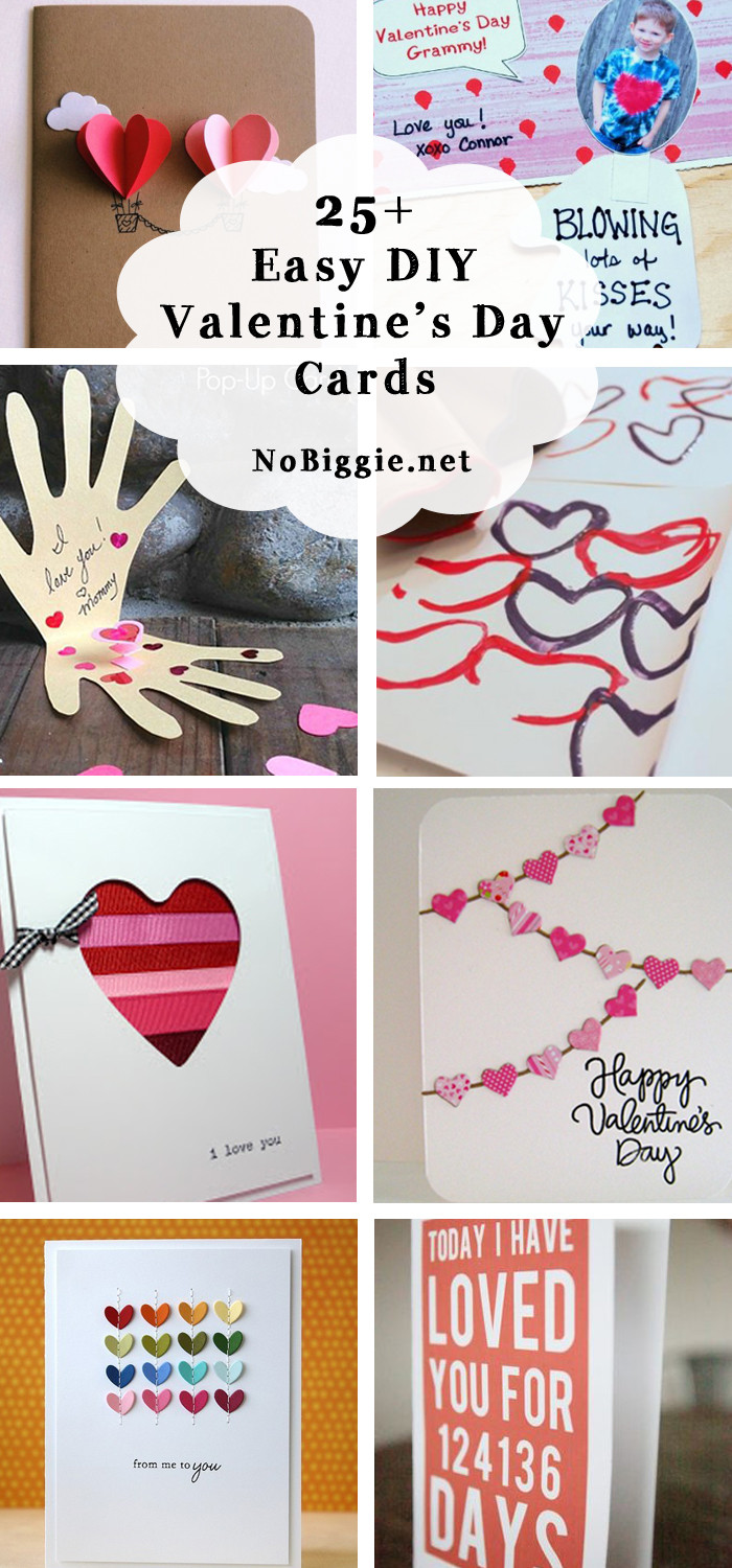 Best ideas about DIY Kids Valentine Cards . Save or Pin 25 Easy DIY Valentine s Day Cards Now.