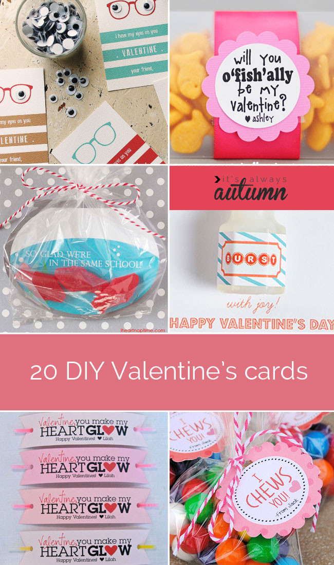 Best ideas about DIY Kids Valentine Cards . Save or Pin 20 fantastic DIY Valentine s Day cards It s Always Autumn Now.