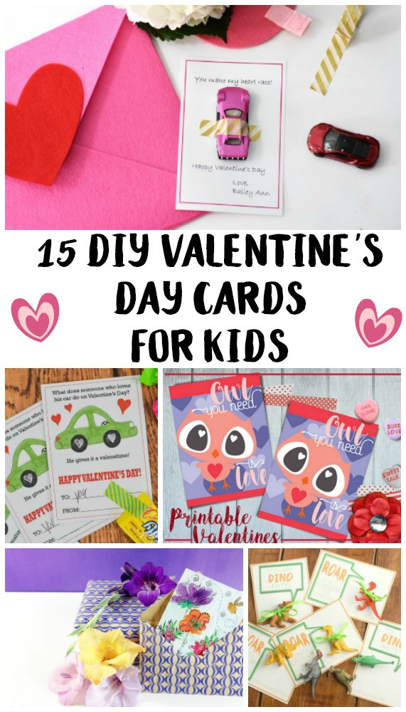 Best ideas about DIY Kids Valentine Cards . Save or Pin 15 DIY Valentine s Day Cards For Kids Not Quite Susie Now.