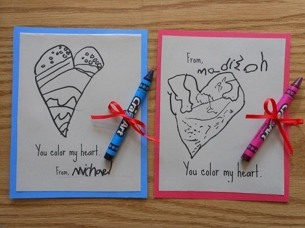 Best ideas about DIY Kids Valentine Cards . Save or Pin 30 DIY Valentine s Day Ideas for Kids Now.