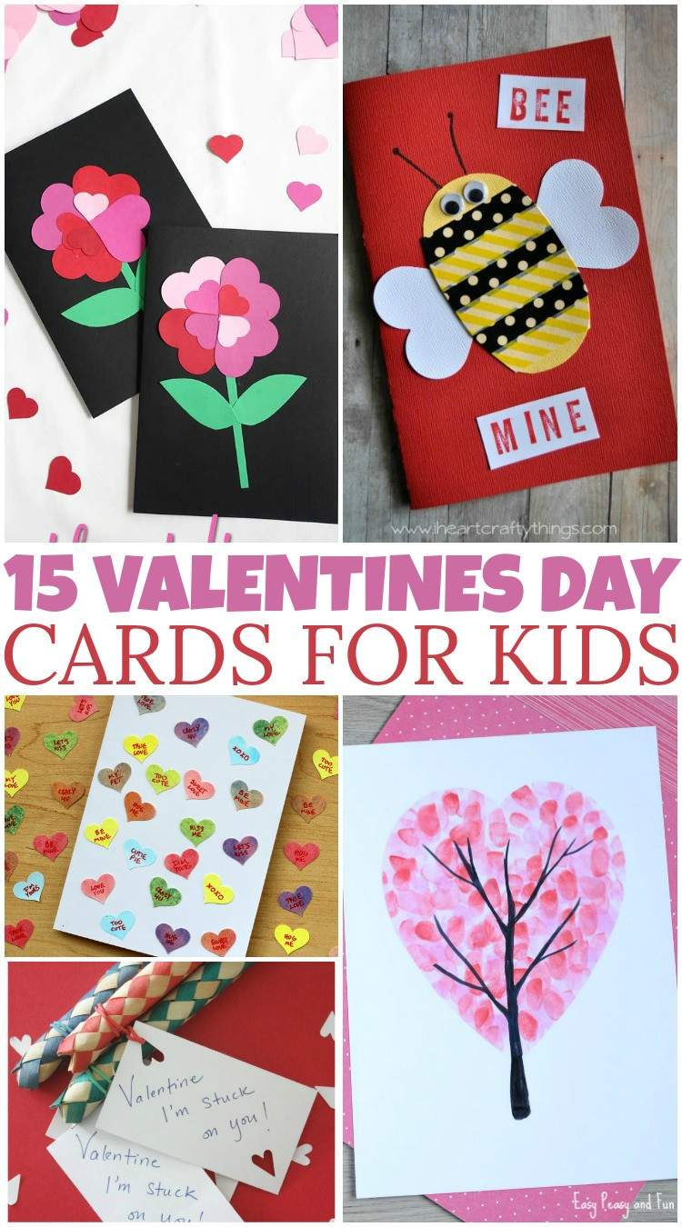 Best ideas about DIY Kids Valentine Cards . Save or Pin 15 DIY Valentine s Day Cards For Kids British Columbia Mom Now.