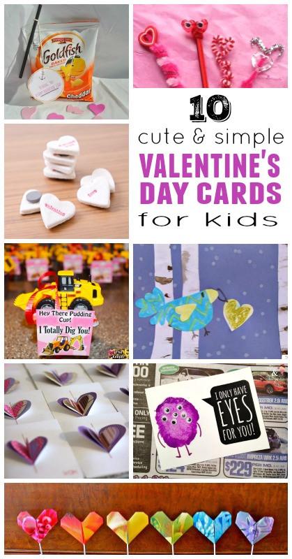 Best ideas about DIY Kids Valentine Cards . Save or Pin DIY Valentine Cards for Kids Now.