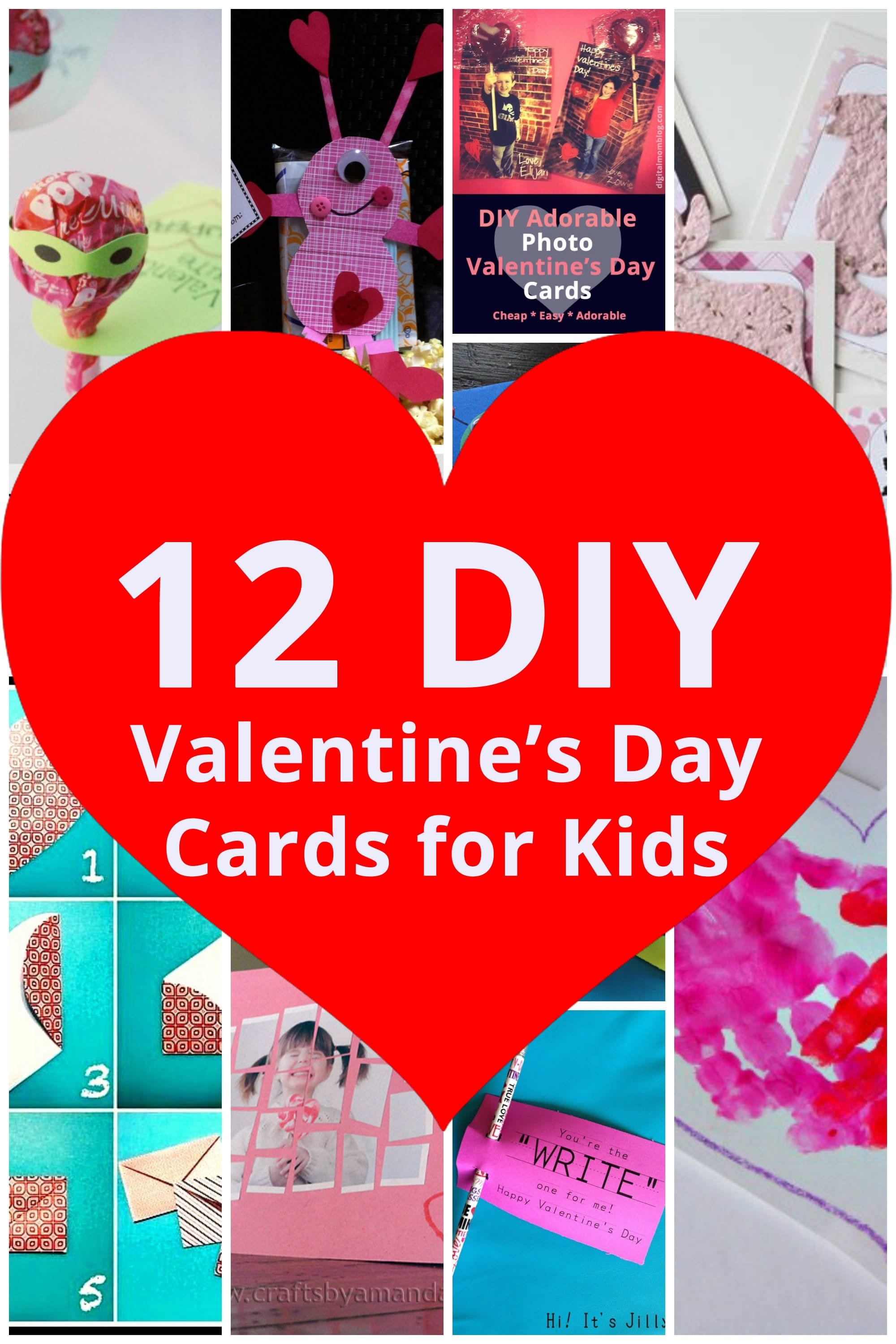 Best ideas about DIY Kids Valentine Cards . Save or Pin DIY Valentine s Day Cards for Kids Now.