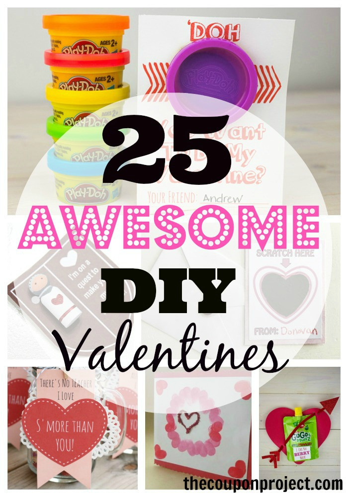 Best ideas about DIY Kids Valentines . Save or Pin 25 Awesome DIY Valentine's Day Ideas for Kids Now.
