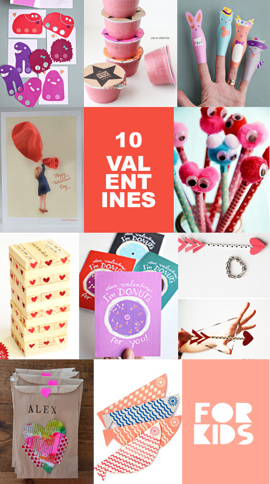 Best ideas about DIY Kids Valentines . Save or Pin 10 DIY Valentines for Kids – Valentines Cards for kids Now.