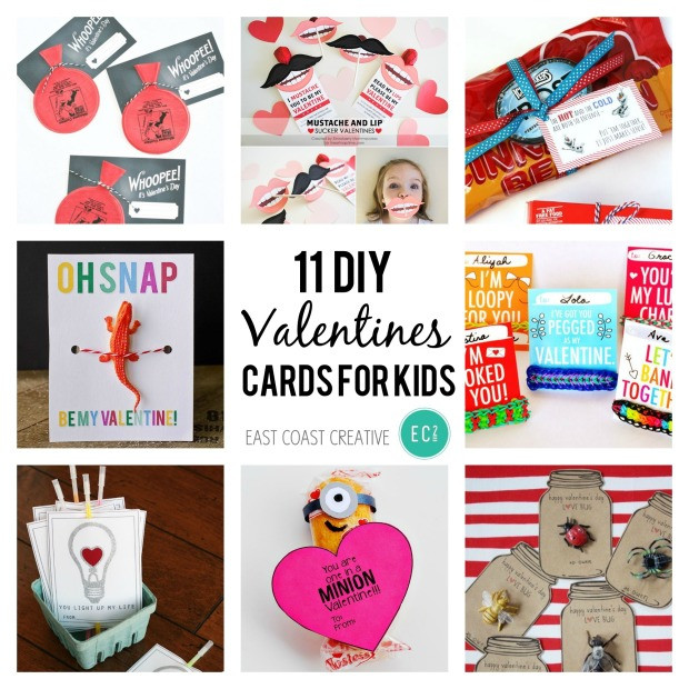 Best ideas about DIY Kids Valentines . Save or Pin 11 DIY Valentine's Day Cards for Kids Now.