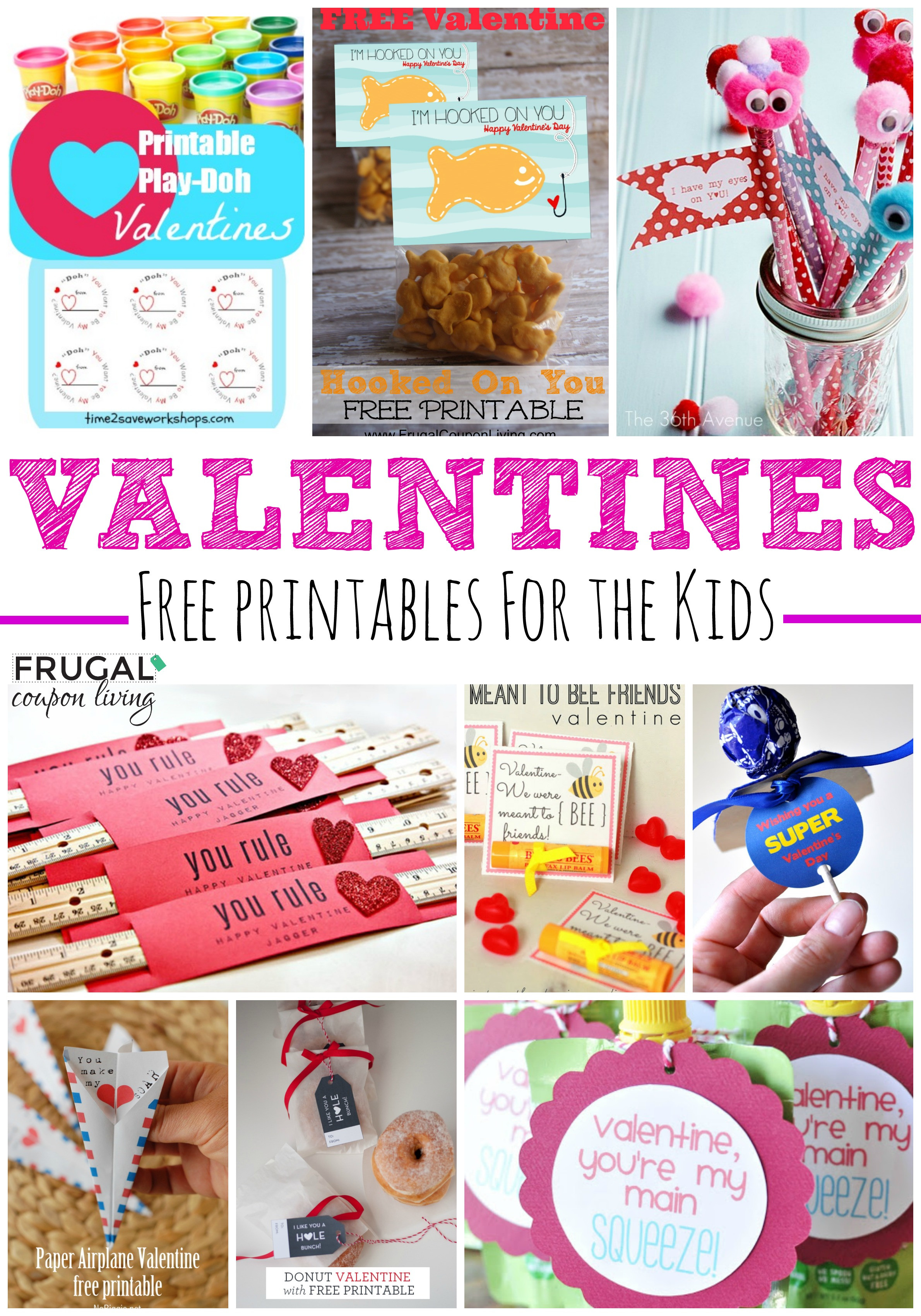 Best ideas about DIY Kids Valentines . Save or Pin 20 Frugal DIY Kids Valentines Now.