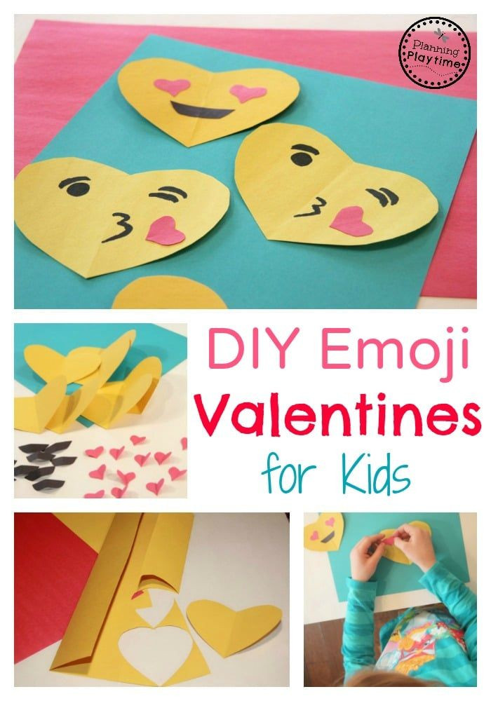 Best ideas about DIY Kids Valentines . Save or Pin DIY Emoji Valentines for Kids Now.