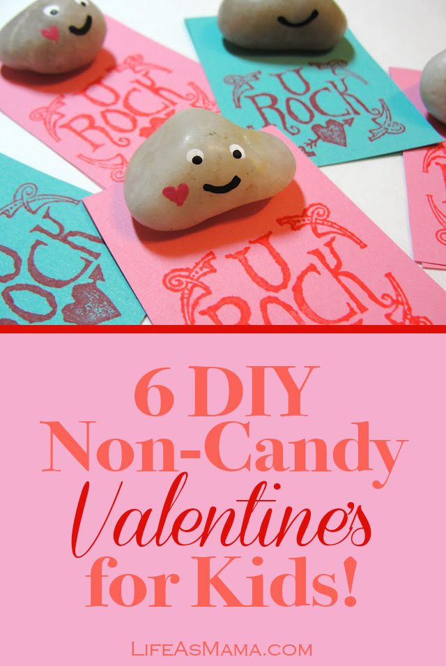 Best ideas about DIY Kids Valentines . Save or Pin 6 DIY Non Candy Valentine s for Kids Now.