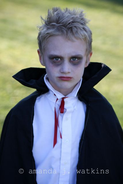 Best ideas about DIY Kids Vampire Costume . Save or Pin wildly simple A Gnome a Vampire & a Wizard Last minute Now.