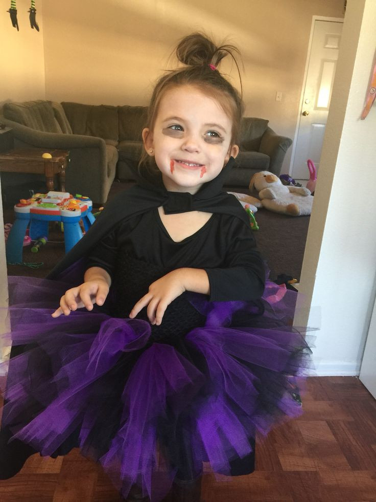 Best ideas about DIY Kids Vampire Costume . Save or Pin DIY vampire costume for girls Tutu tights boots a Now.