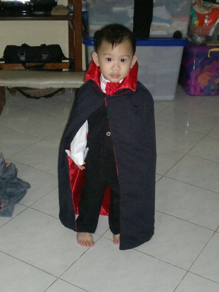 Best ideas about DIY Kids Vampire Costume . Save or Pin How to Make a Vampire Costume for Children Now.