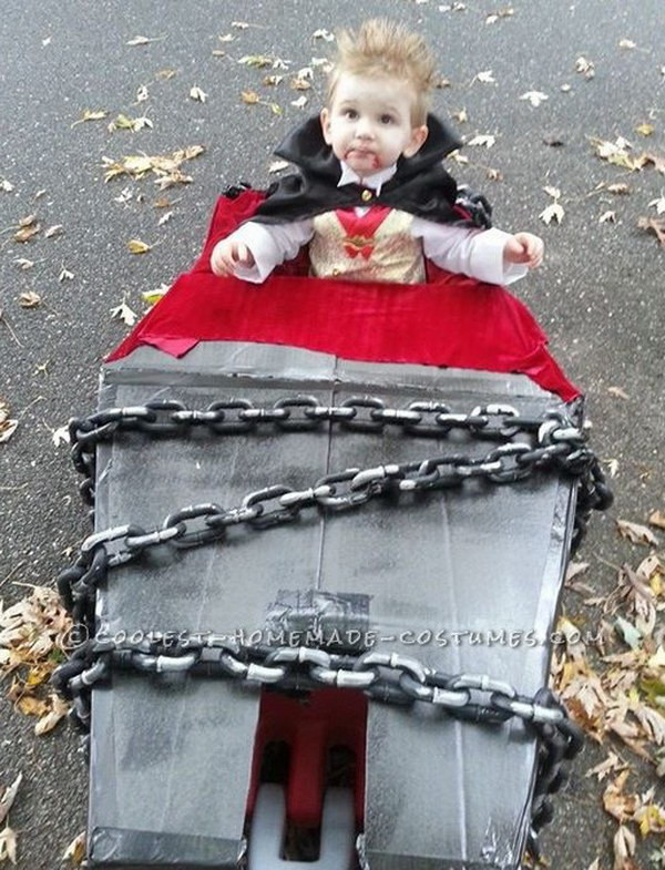 Best ideas about DIY Kids Vampire Costume . Save or Pin DIY Halloween Vampire Ideas Hative Now.
