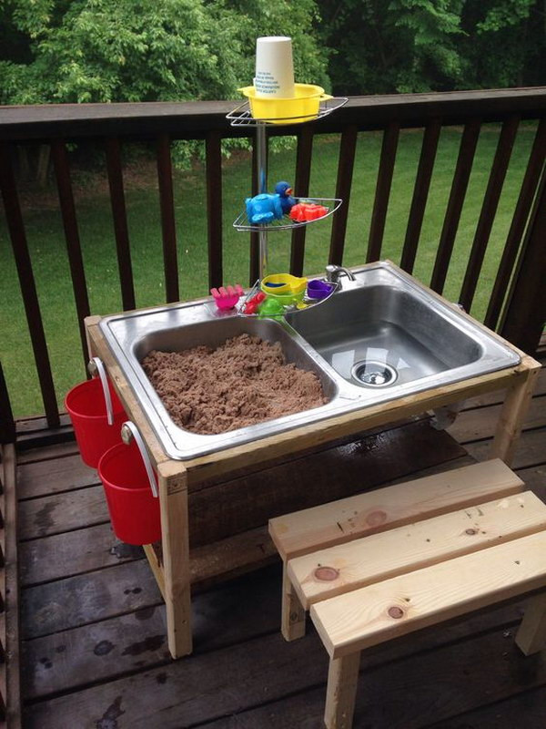 Best ideas about DIY Kids Water Table . Save or Pin Fun and Easy DIY Outdoor Play Areas For Kids Hative Now.