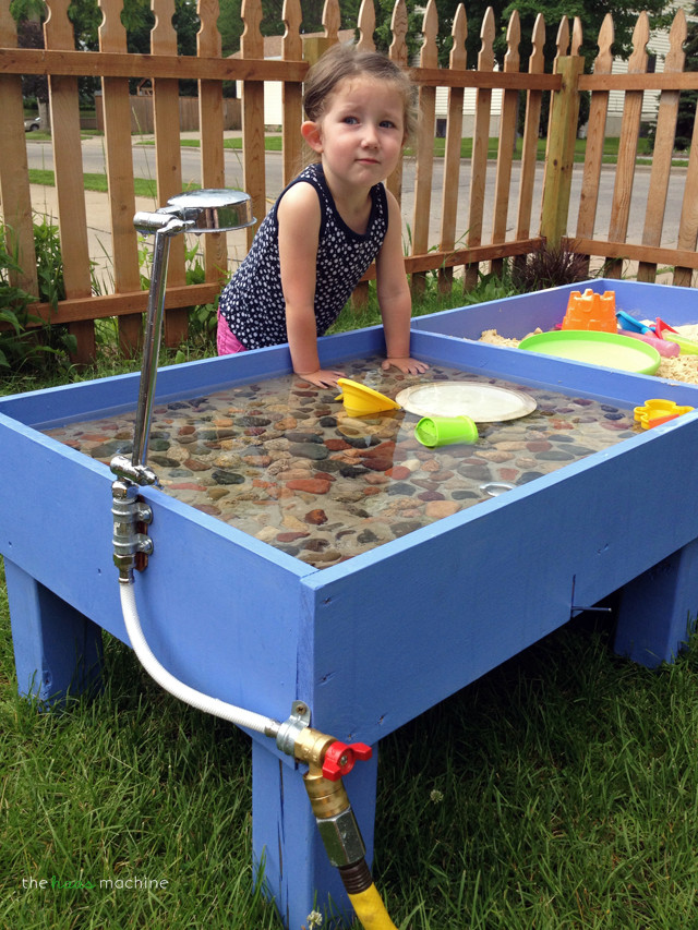 Best ideas about DIY Kids Water Table . Save or Pin DIY Sand & Water Table The Haas Machine Now.