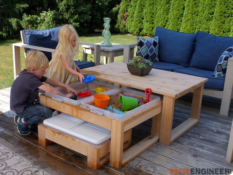 Best ideas about DIY Kids Water Table . Save or Pin Outdoor Nesting Activity Table Rogue Engineer Now.