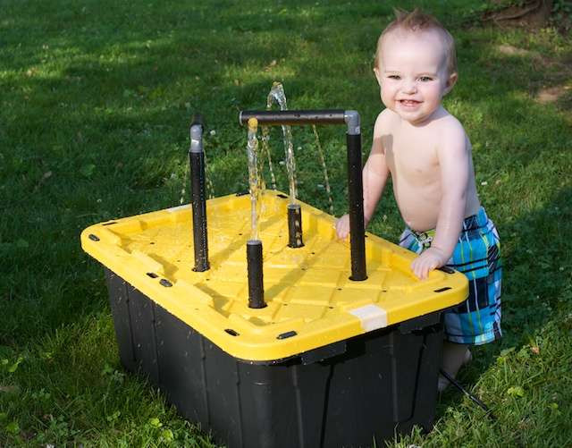 Best ideas about DIY Kids Water Table . Save or Pin 20 Cool DIY Play Tables For A Kids Room Now.