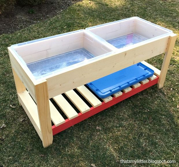 Best ideas about DIY Kids Water Table . Save or Pin DIY Sand and Water play table For Kids in 2019 Now.