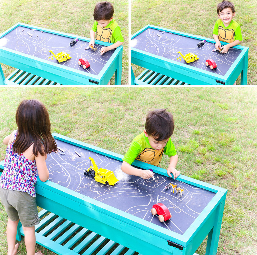 Best ideas about DIY Kids Water Table . Save or Pin How to make a sand and water table Now.