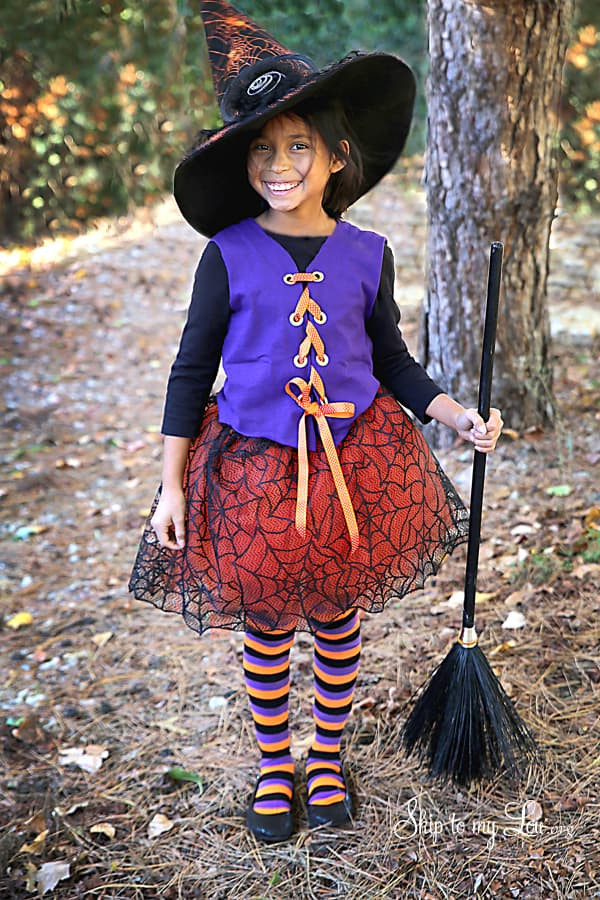 Best ideas about DIY Kids Witch Costume . Save or Pin Baby Halloween Costumes Now.