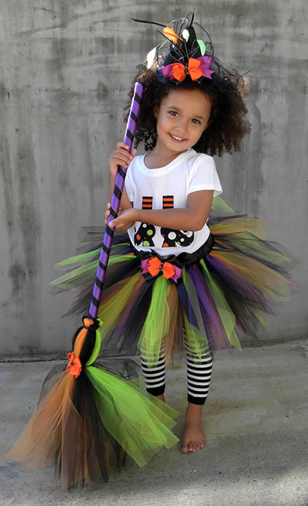 Best ideas about DIY Kids Witch Costume . Save or Pin 15 ideias de Fantasia Saia Tutu Now.