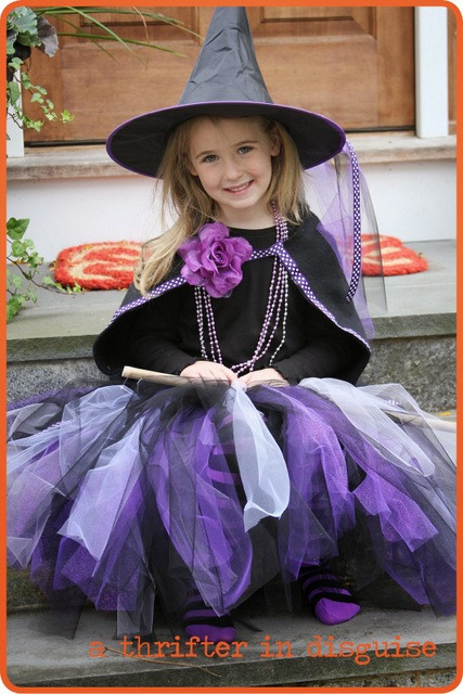 Best ideas about DIY Kids Witch Costume . Save or Pin Craftionary Now.