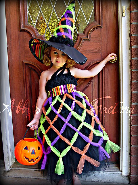Best ideas about DIY Kids Witch Costume . Save or Pin Forever Fairytales DIY Halloween Costumes Too Cute Now.