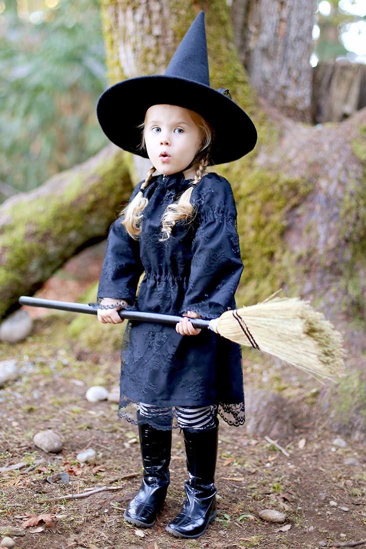 Best ideas about DIY Kids Witch Costume . Save or Pin Free Witch Hat Pattern DIY Witch Costume Sew Much Ado Now.