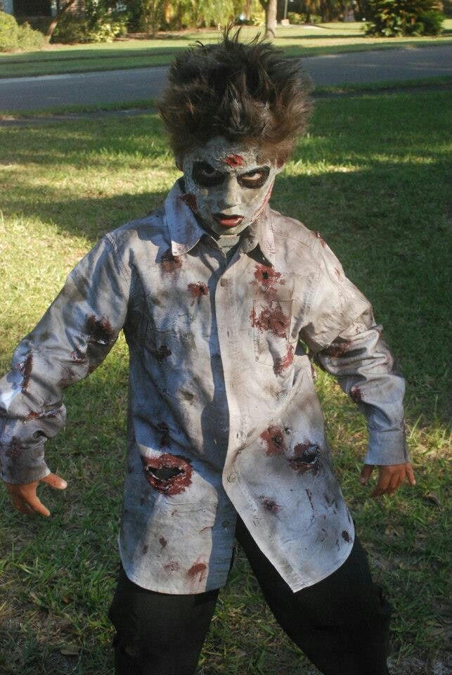 Best ideas about DIY Kids Zombie Costumes . Save or Pin Diy zombie costume Halloween costumes Pinterest and Web Now.