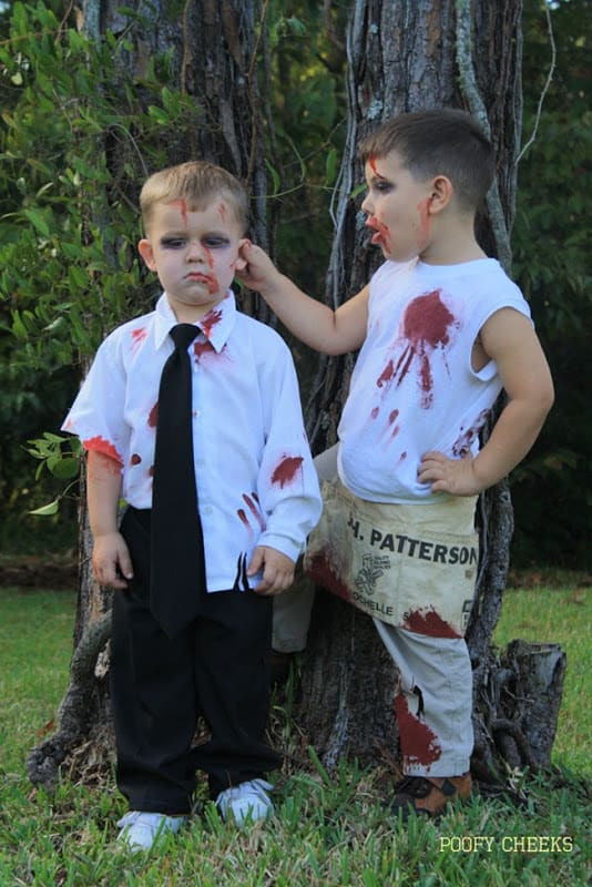 Best ideas about DIY Kids Zombie Costumes . Save or Pin Over 40 Do It Yourself Halloween Costumes A Turtle s Now.