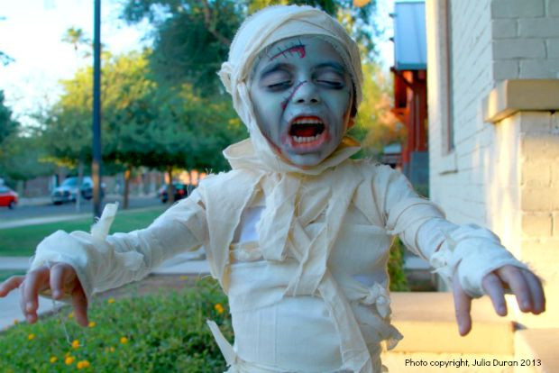 Best ideas about DIY Kids Zombie Costumes . Save or Pin DIY Halloween Kids Costumes Now.