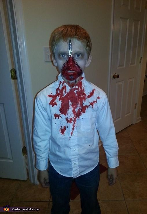 Best ideas about DIY Kids Zombie Costumes . Save or Pin Best 25 Zipper face ideas on Pinterest Now.