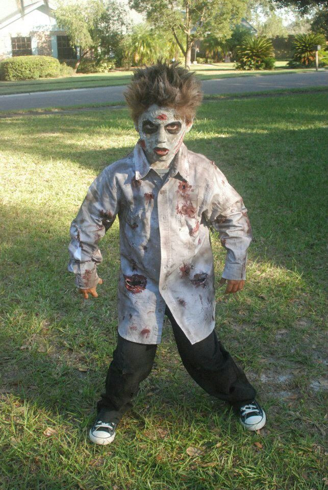 Best ideas about DIY Kids Zombie Costumes . Save or Pin Diy zombie costume bray wants to be zombies this yr Now.