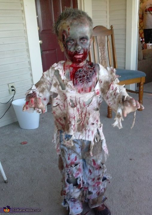 Best ideas about DIY Kids Zombie Costumes . Save or Pin Zombie Boy Costume Now.