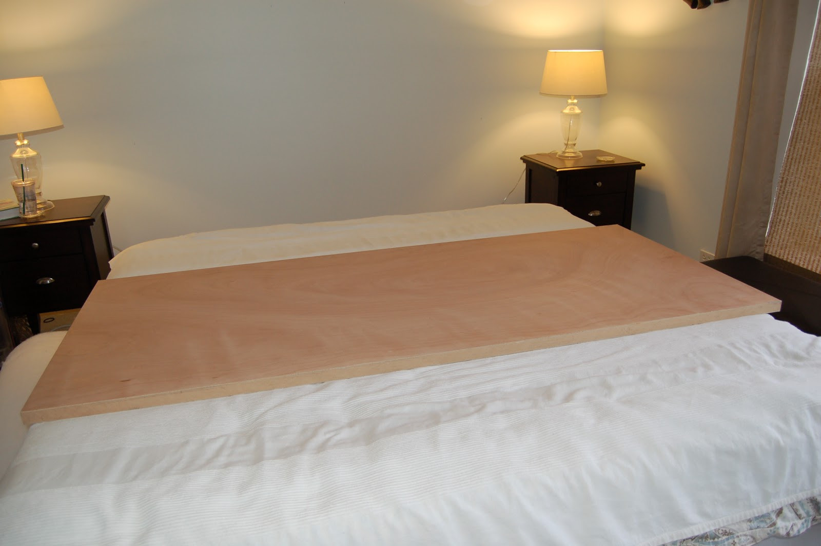 Best ideas about DIY King Beds . Save or Pin Domestic Observances DIY King Sized Headboard Now.