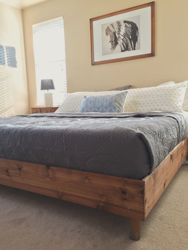 Best ideas about DIY King Beds . Save or Pin 25 best ideas about King Bed Frame on Pinterest Now.