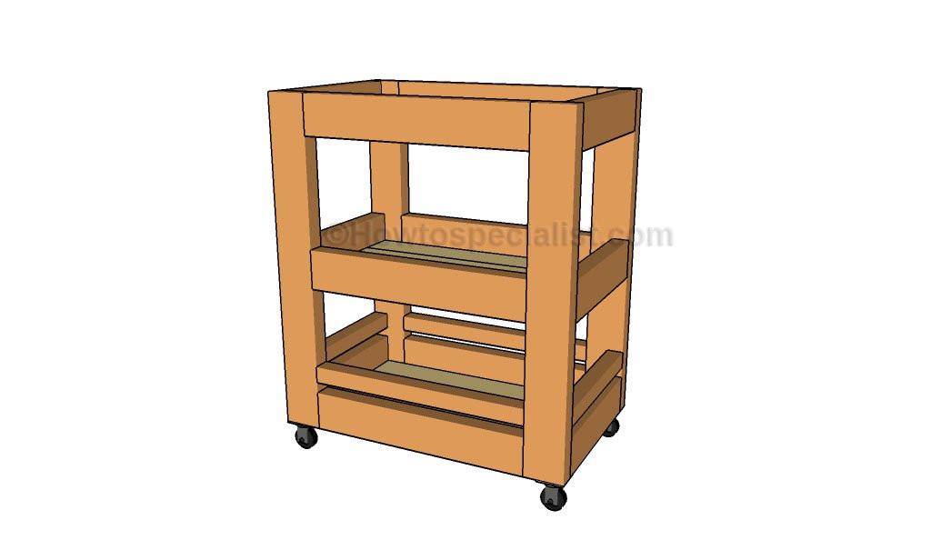 Best ideas about DIY Kitchen Cart Plans . Save or Pin Kitchen Cart Plans Now.