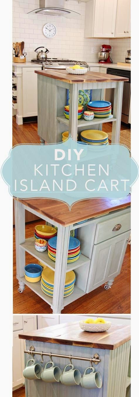 Best ideas about DIY Kitchen Cart Plans . Save or Pin DIY Kitchen Island Cart How to and plans for building a Now.