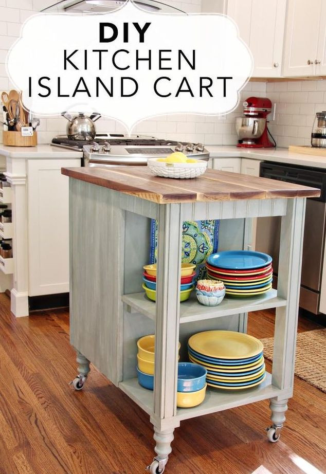 Best ideas about DIY Kitchen Cart Plans . Save or Pin DIY Kitchen Island Cart With Plans Now.