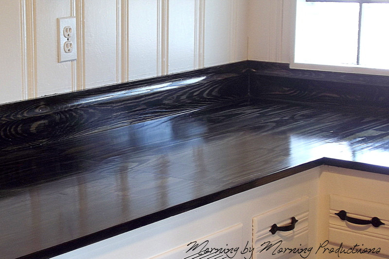 Best ideas about DIY Kitchen Counters . Save or Pin Morning by Morning Productions DIY Kitchen Countertops Now.