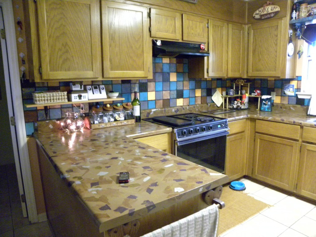 Best ideas about DIY Kitchen Counters . Save or Pin Easy & Inexpensive DIY Kitchen Countertops Now.