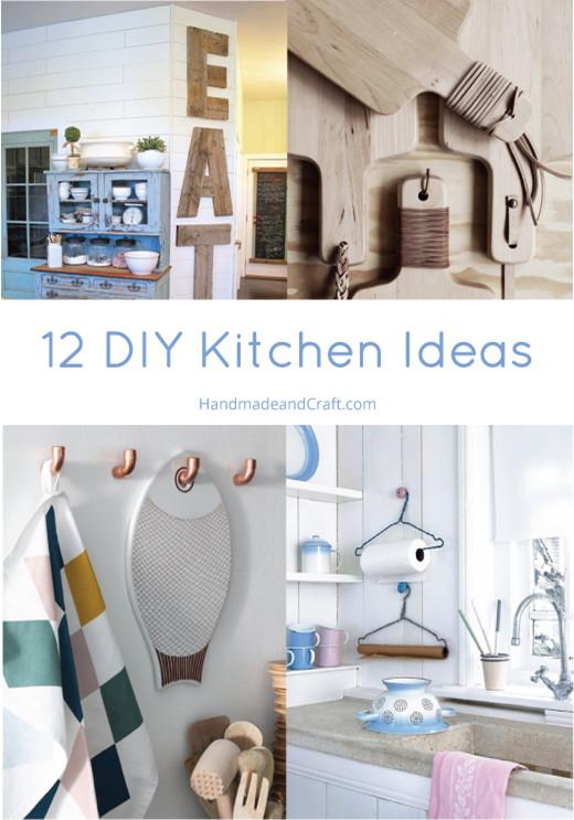 Best ideas about Diy Kitchen Ideas . Save or Pin 12 DIY Kitchen Ideas Now.